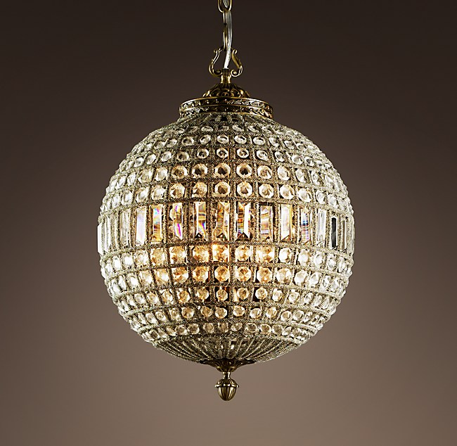 19th C Casbah Crystal Chandelier 18