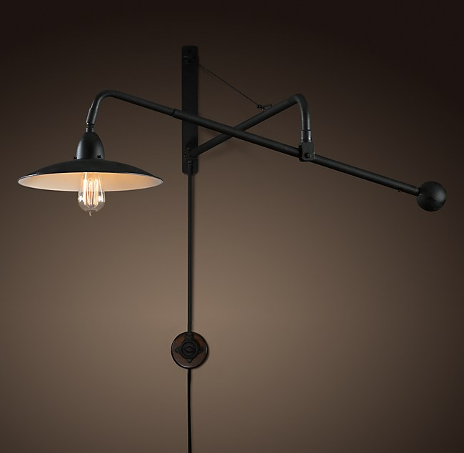 1940s Architect S Boom Sconce