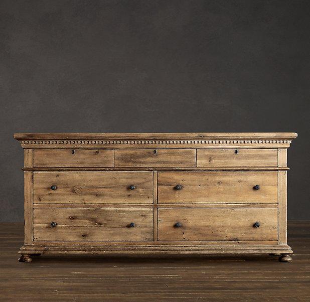 dp drawer stain dresser com solid natural glendora wood three amazon