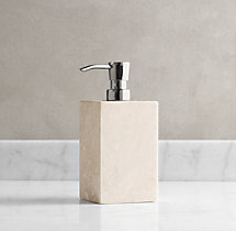 Crema Marble Soap Dispenser