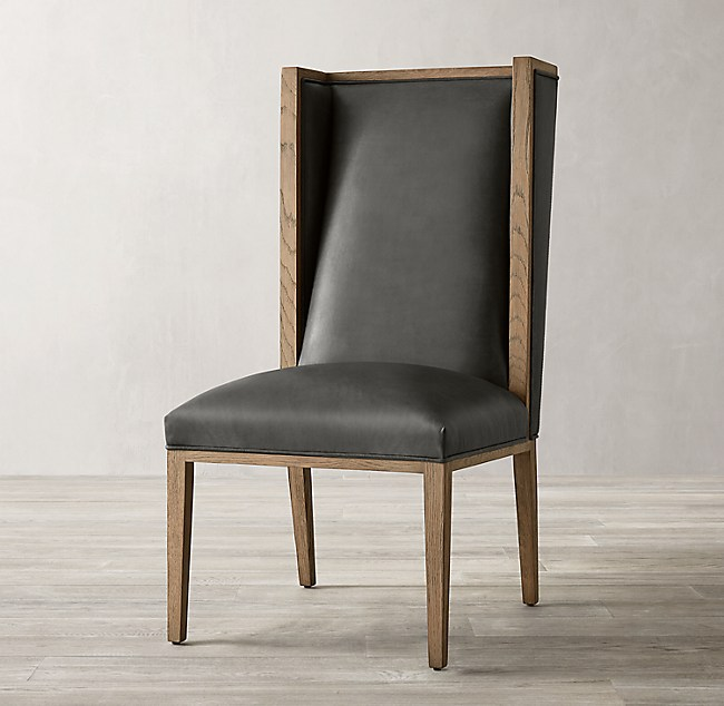 Durant Wingback Leather Chair