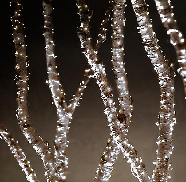 Starry String Lights Diamond Lights On Silver Wire