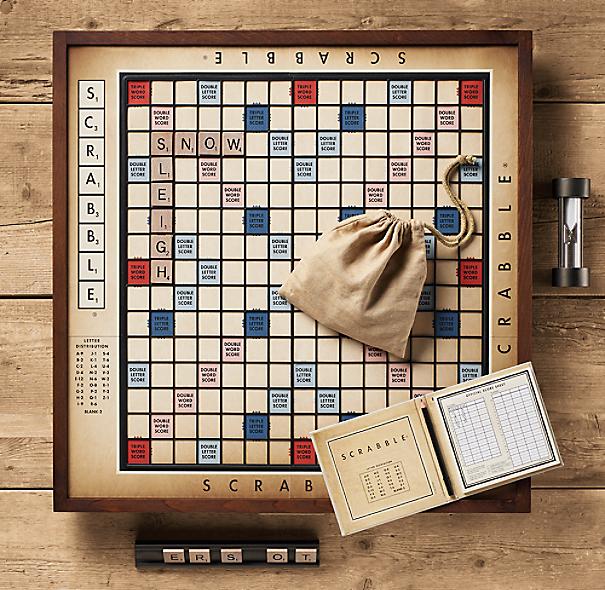 Vintage Deluxe Scrabble 174