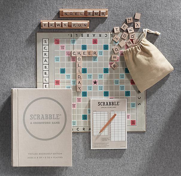 Vintage Bookshelf Scrabble®