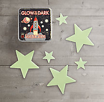 Glow-in-the-Dark Glitter Stars