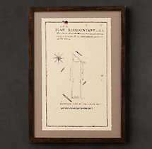 19th C. French Architectural Schematics 1