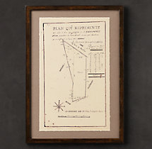 19th C. French Architectural Schematics 2