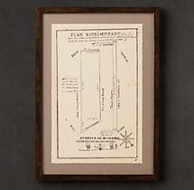 19th C. French Architectural Schematics 8