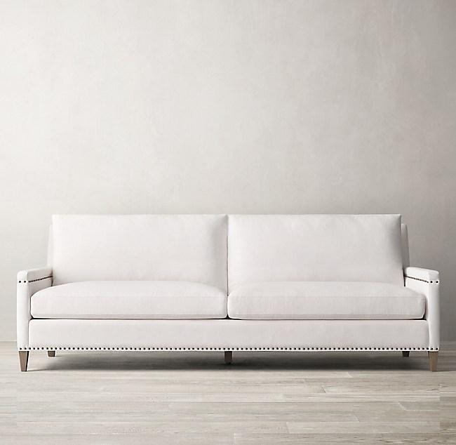 Turner Track Arm Sofa With Nailheads
