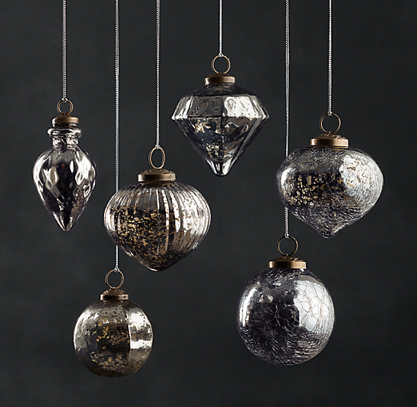 Vintage Handblown Glass Ornament Collection