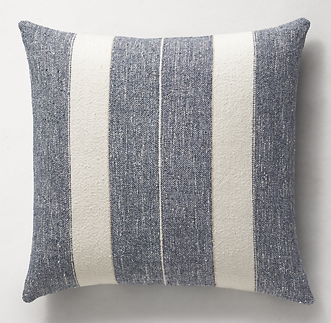 Libeco Textured Melange Pillow Collection | RH