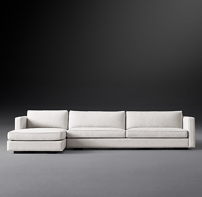 Maddox Slim Arm Sofa Chaise Sectional
