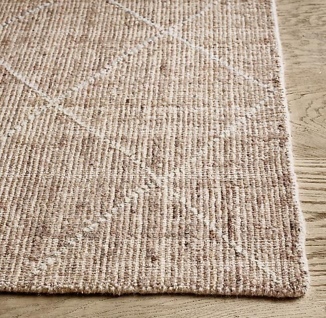Reina Diamond Handwoven Wool Rug