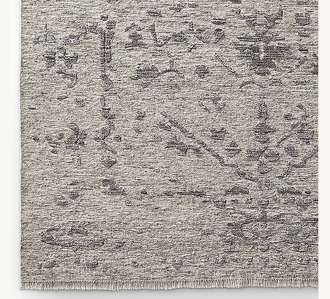 Savoy Braided Hand Knotted Rug Swatch