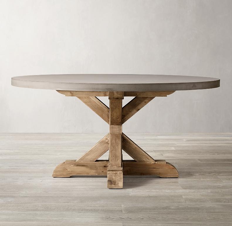 Numara Adult Locație Concrete Top Dining Table Tcc2 Org
