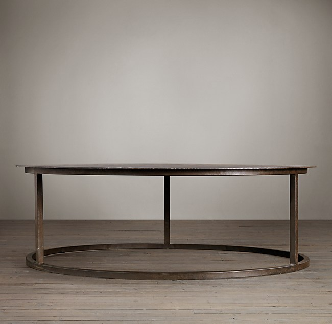 Round Coffee Table Restoration Hardware 11