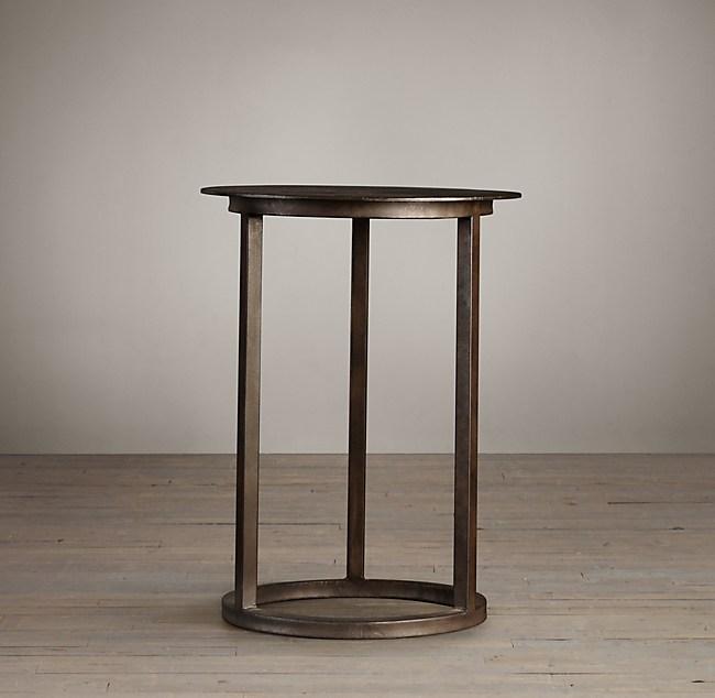 Mercer Round Side Table Restoration Hardware