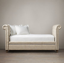 Chesterfield Fabric Divan Daybed