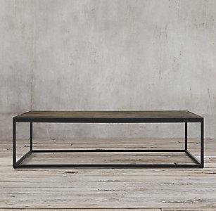 Metal Parquet Side Table 795 Regular 596 Member 2 Sizes