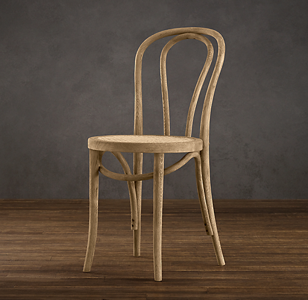 French Caf 233 Side Chair