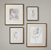 Gilt Gallery Frames - Gold