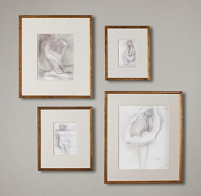 Gilt Gallery Frames - Gold
