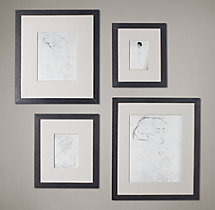 Black Metal Wide Gallery Frames