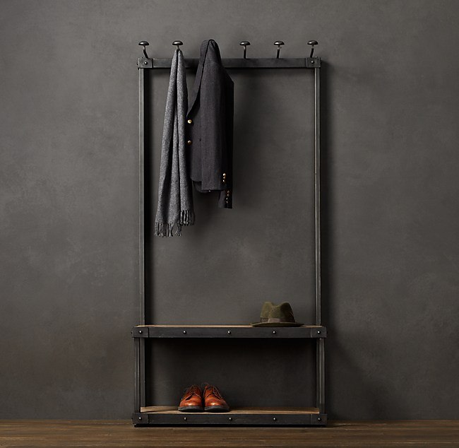 Coat Rack Bench 3