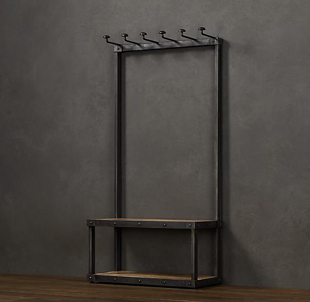 Coat Rack Bench 3 Home Lilys Design Ideas