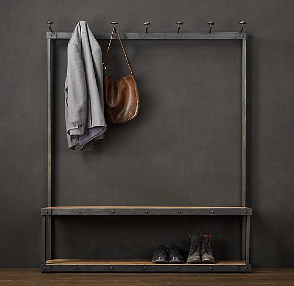 Coat Rack Bench 5 39