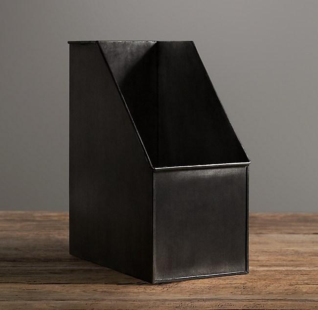 Industrial Metal Office Storage Magazine Box