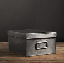 Industrial Metal Office Storage Media Box