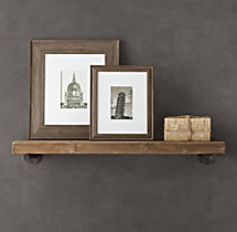 Distressed Pine Shelf