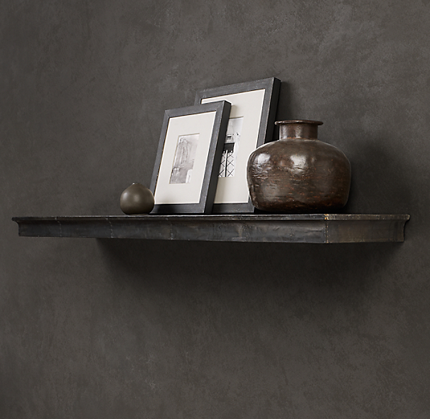 Zinc Wall Shelf Profile