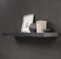 Zinc Straight Wall Shelf
