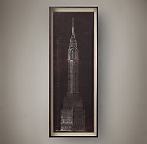 Chrysler Building Blueprint