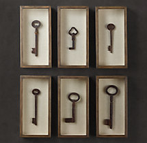 Key Shadow Boxes