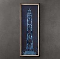 Cape Henry Lighthouse Blueprint 2