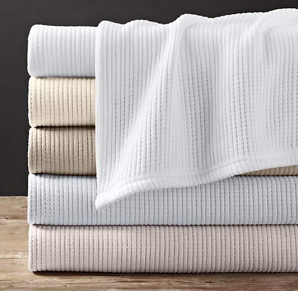Cotton Ribbed Blanket