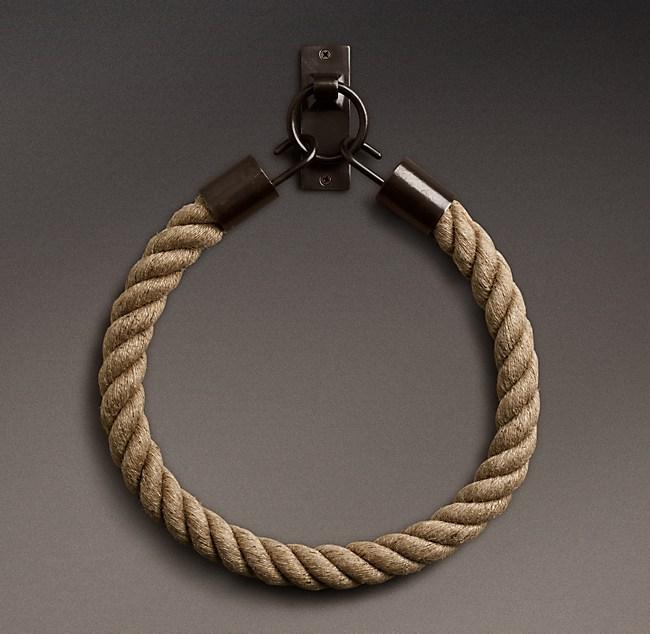 Fantastic Dakota Mocha Rope Tieback - Chestnut ZW78