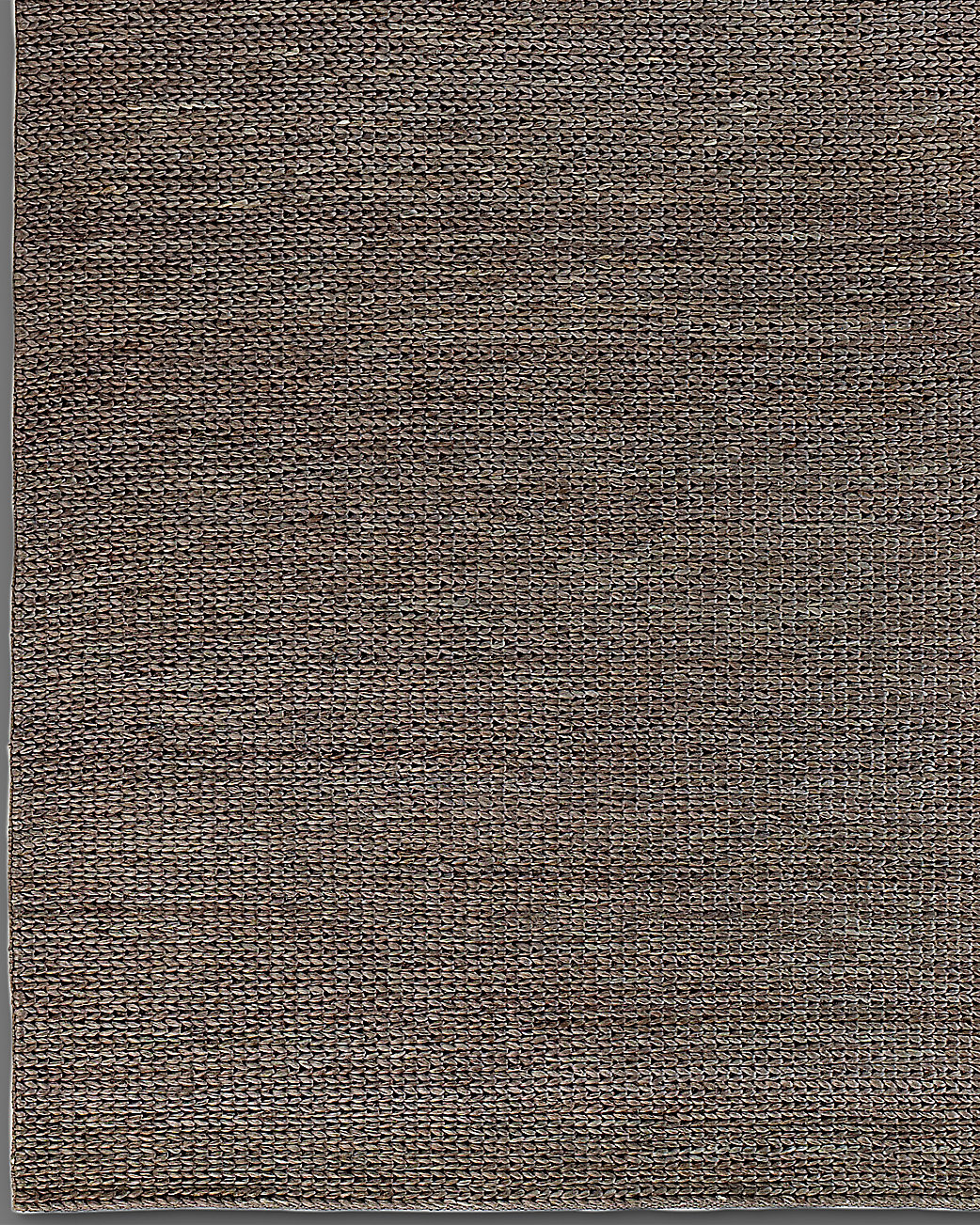 Hand-Braided Jute Rug - Chocolate