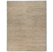Hand-Braided Jute Rug - Natural