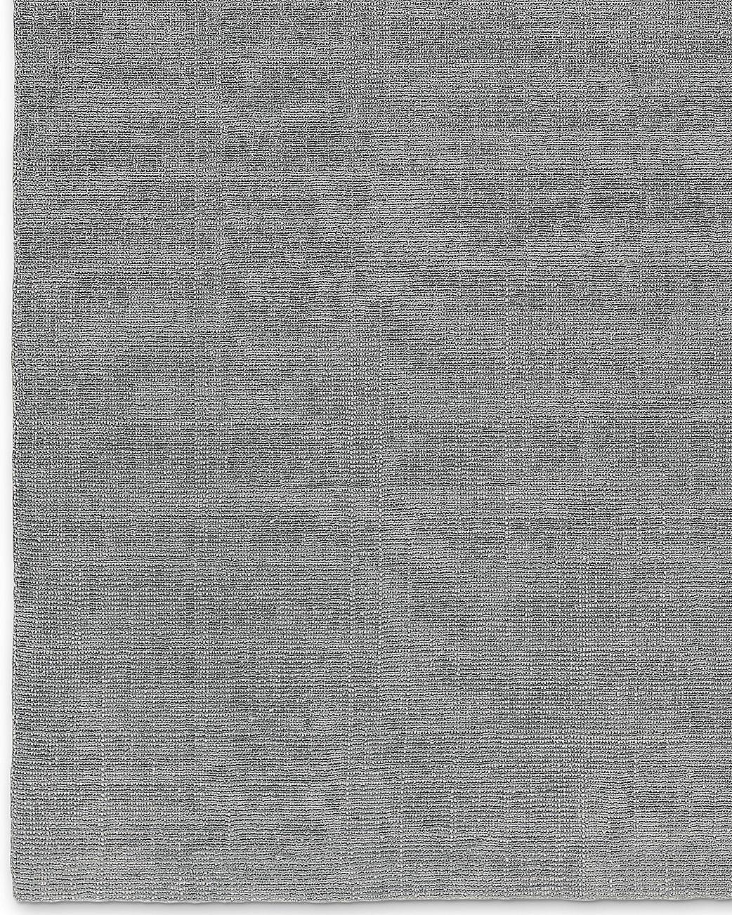 Distressed Wool Rug - Platinum