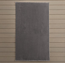 555-Gram Beach Towel - Graphite