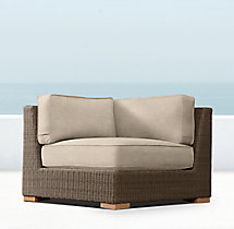 Biscayne Luxe Corner Chair