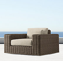 Majorca Luxe Swivel Lounge Chair