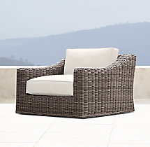 Provence Luxe Swivel Lounge Chair Cushions
