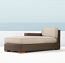 Biscayne Luxe Left-Arm Chaise