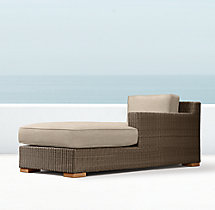Biscayne Luxe Right-Arm Chaise