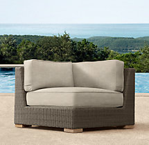 Biscayne Luxe Corner Chair Cushions